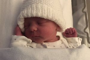 Sir Chris revealed news of Chloe's birth on Twitter. Picture @chrishoy
