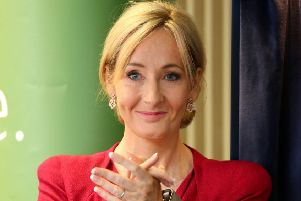 Harry Potter author JK Rowling. Picture: PA