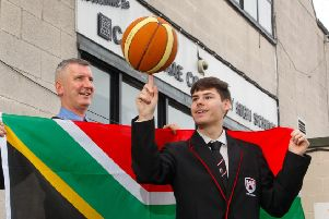 Castlebrae High Pupil Daniel Whitney has been selected to teach sport to underprivileged children in South Africa.