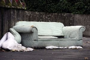 If you dump furniture in the street you're a lousy neighbour