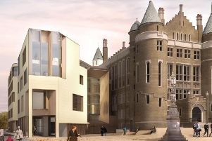 The proposed extension to the 19th century Teviot Row House student union in Edinburgh proved unpopular. Picture: Contributed