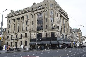Frasers department store at the West End.  The building is up for sale and may be converted into a hotel. Picture: Greg Macvean.