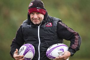 Edinburgh Rugby head coach Richard Cockerill. Picture: Gary Hutchison/SNS/SRU