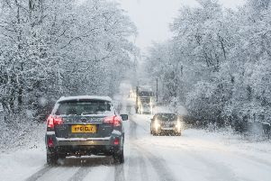 Scotland has had its coldest night of the year so far. Picture: Phil Wilkinson