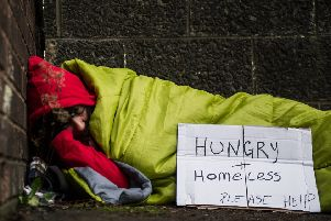 A different way of working is needed to tackle rough sleeping. Picture: John Devlin