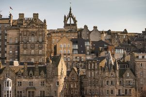 A view of Edinburgh's skyline