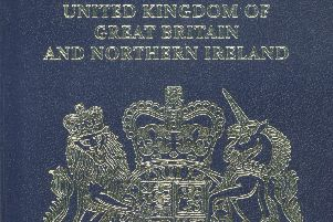 Britain will return to a blue and gold passport design after the country leaves the European Union. Picture: AFP/Getty Images