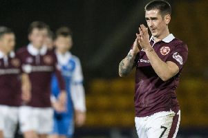 Hearts' Jamie Walker. Picture: Kenny Smith/SNS
