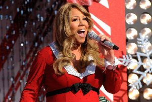 Mariah Carey number one for UK's favourite festive song. Picture: Mark Ashman/Disney via Getty Images