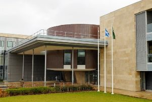 Livingston Sheriff Court. Picture: TSPL