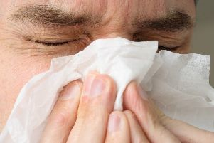 The Australian flu can stay with you for one or two weeks.