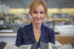Harry Potter author Jk Rowling. Picture: Tom Hayward