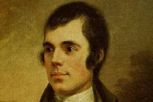 Robert Burns' authenticity comes because of his roots in poverty, struggle and fragility