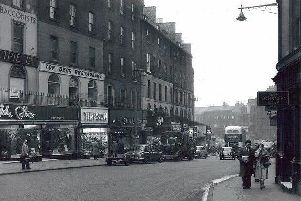 See Edinburgh flourish through time in photos taken then and now