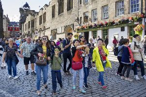 First-time visitors should spend the whole day on the Royal Mile. Picture: Ian Rutherford