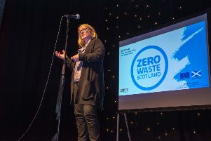 Jill Farrell, chief operating officer of Zero Waste Scotland at the festival