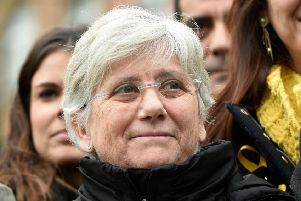 Clara Ponsati is expected to appear at Edinburgh Sheriff Court tomorrow. Picture: John Thys/AFP