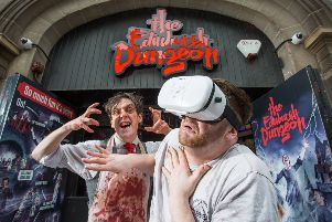 The Edinburgh Dungeon'VR experience 2018