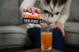 Irn-Bru chief Roger White has hinted that an alcoholic version of the popular fizzy drink could be on the cards. Picture: TSPL