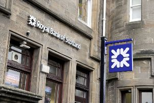 A branch of RBS. Picture: Michael Gillen
