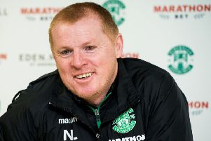 Neil Lennon's Hibs are targeting second place