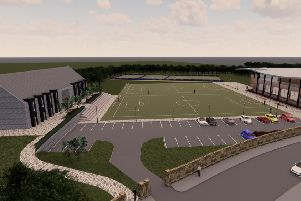 An artists impression of the proposed facility