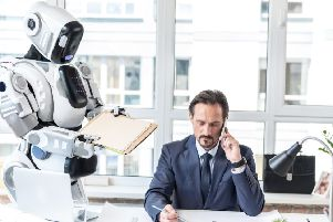 Robots will be more common in the workplace