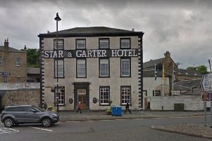 The incident took place at The Star and Garter Hotel