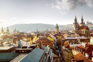 Prague has several similarities to Edinburgh, including a castle (Picture: Getty)