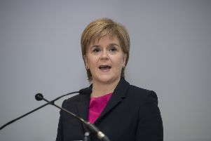 Nicola Sturgeon needs to move on from 2014, says Brian Monteith. Picture: John Devlin