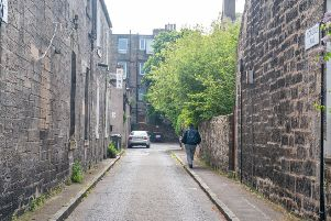Industry Lane off Ferry Road in Leith. Picture: Ian Georgeson