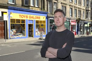 Donald Nairn of Toys Galore said parking fees and other council decisions are killing Edinburgh traders