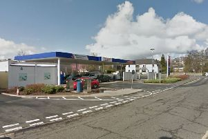 The petrol station was held up on Saturday morning. Picture; Google Maps