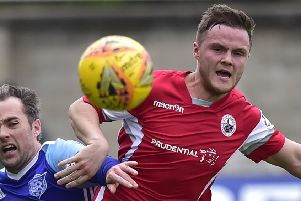 Andrew Black played for Stirling Albion last season