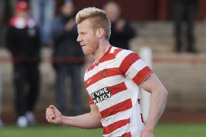 Blair Henderson spent time in the east Juniors with Bonnyrigg Rose before returning to League Two with Berwick Rangers