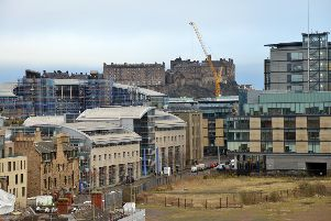 The Conservatives want a hotel built close to the new Boroughmuir school in Fountainbridge. Picture: Jon Savage