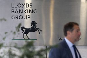 "Lloyds Banking Group said the changes will result in a ""sharper focused"" communications department. Picture: Getty"