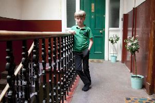 Tom Megaughin, who had his bike stolen from the stair in the Easter Road tenement