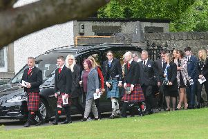 Funeral to Jonathan Smith