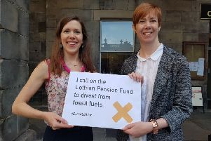 Collectively, Scottish Councils invest �1.8 billion of their pension funds in fossil fuels.
