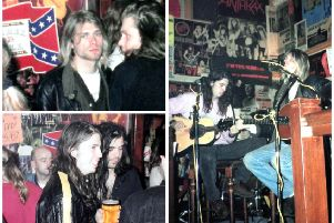 A series of previously unseen photos of Nirvana's gig at The Southern bar have been published. Pictures: Copyright Alan Edwards - All Rights Reserved