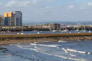 Police responded to concern for a male who had fallen in the water at Granton Harbour.