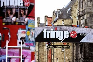 The Edinburgh Festival Fringe saw another record-breaking year. Picture: Lisa Ferguson