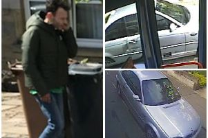 Police wish to speak with the man pictured. Pictures: Contributed