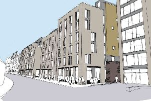 King Stables Road development artist's impression.''Picture: Contributed
