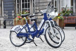 The scheme will launch with an initial 200 cobalt blue bikes in September.