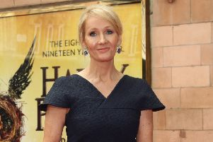 Harry Potter author JK Rowling has mocked US President Donald Trump on Twitter. Picture: Yui Mok/PA Wire
