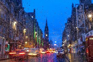 Dress for rain if you're out and about in Edinburgh this weekend (Photo: Shutterstock)