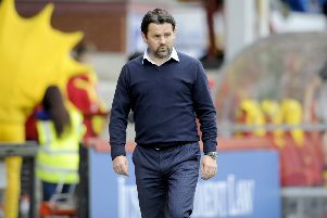 Paul Hartley has left Falkirk. Picture: Michael Gillen