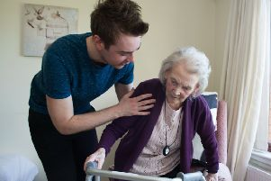 Kindness and compassion are essential but more medical care is needed for elderly people. Picture: John Devlin